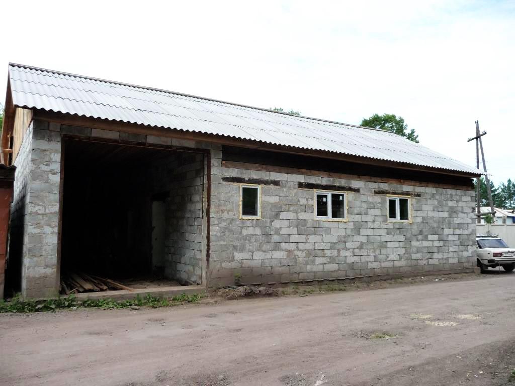 Строительство нового гаража 2008 год