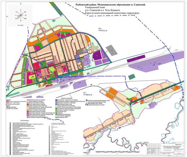 Карта инженерной подготовки территории