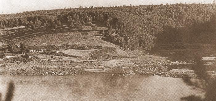 Устье реки Казачки. Стоянка древнего человека