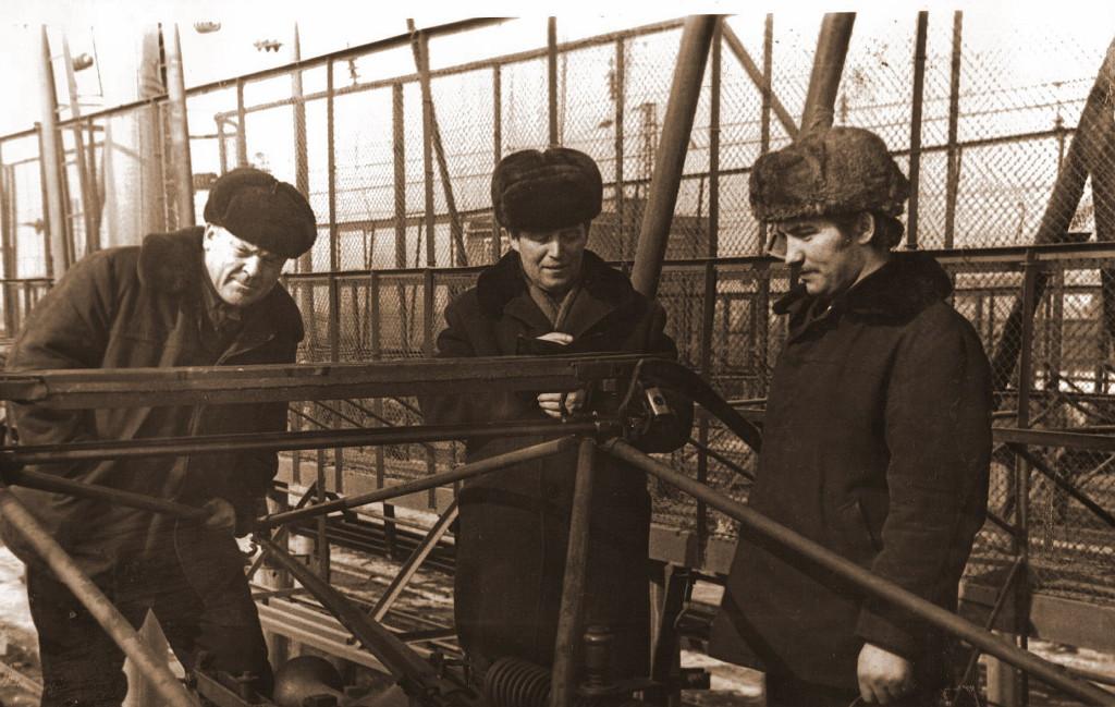 1979 год. Якутин, Безбородов и Бойков