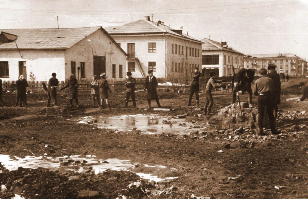 Перекрёсток улиц Мира и Комсомольской