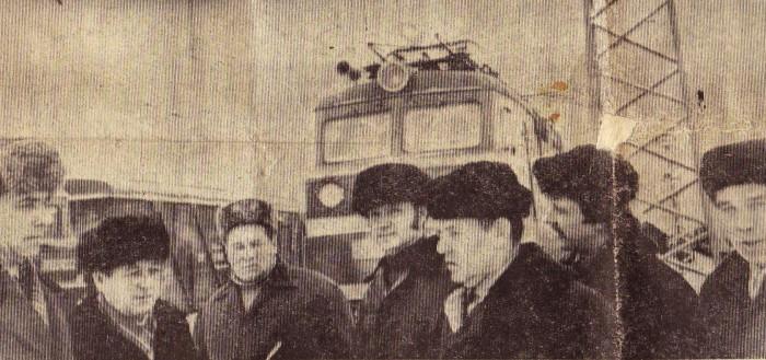 Слева: Частиков П., Красинский В., Гавриков Н., Шкода В., Упольников И., Данилов Н., Куликов И.