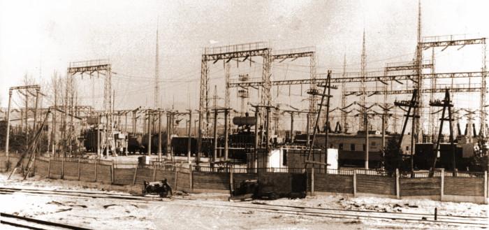 Тяговая подстанция станции Саянская