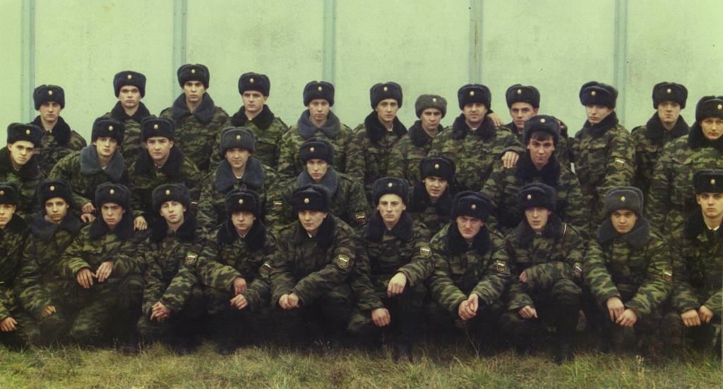 Сергей в воинской части