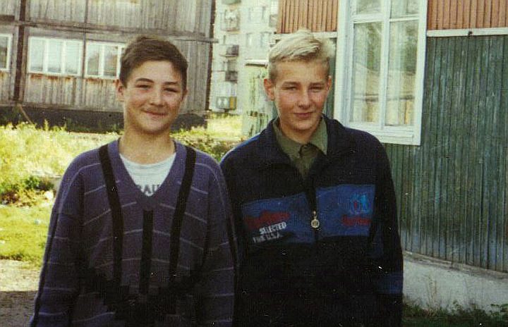 Сергей Самородов и Евгений Щерба