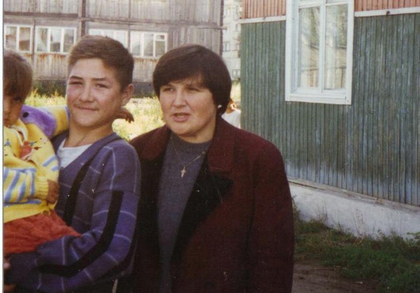 Сергей, Лобарева Маргарита и её бабушка
