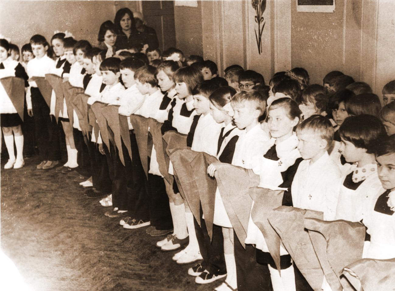 Дети пионеры в ссср фото