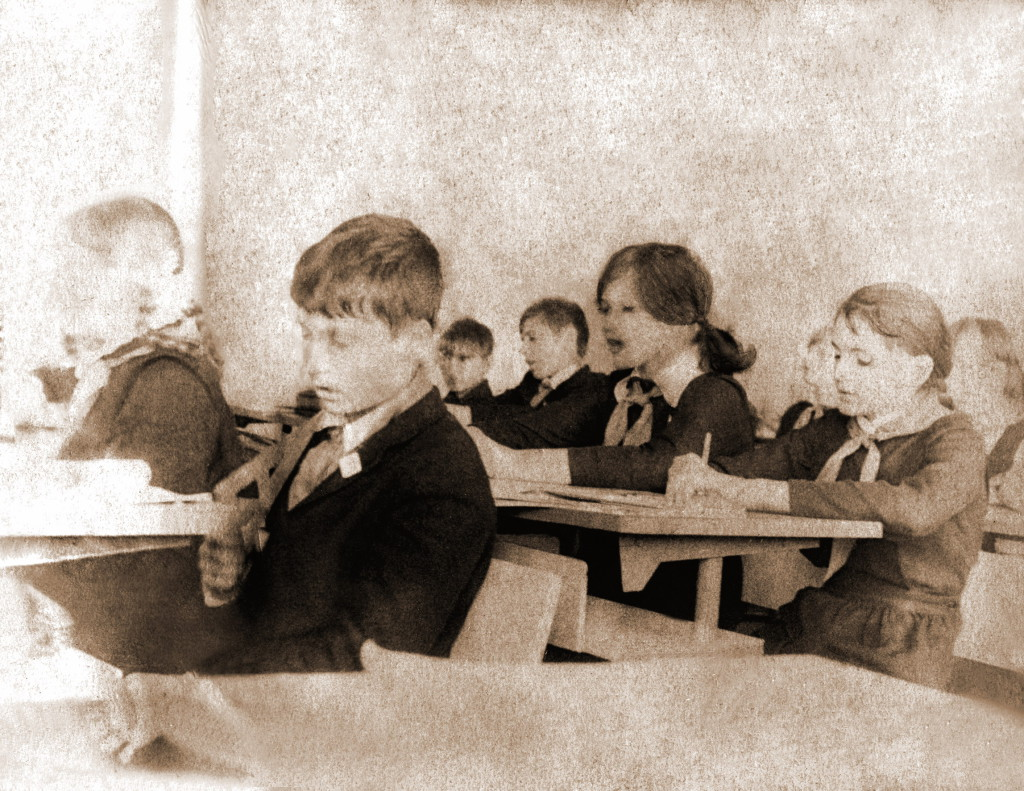 Пионеры Саянской школы
