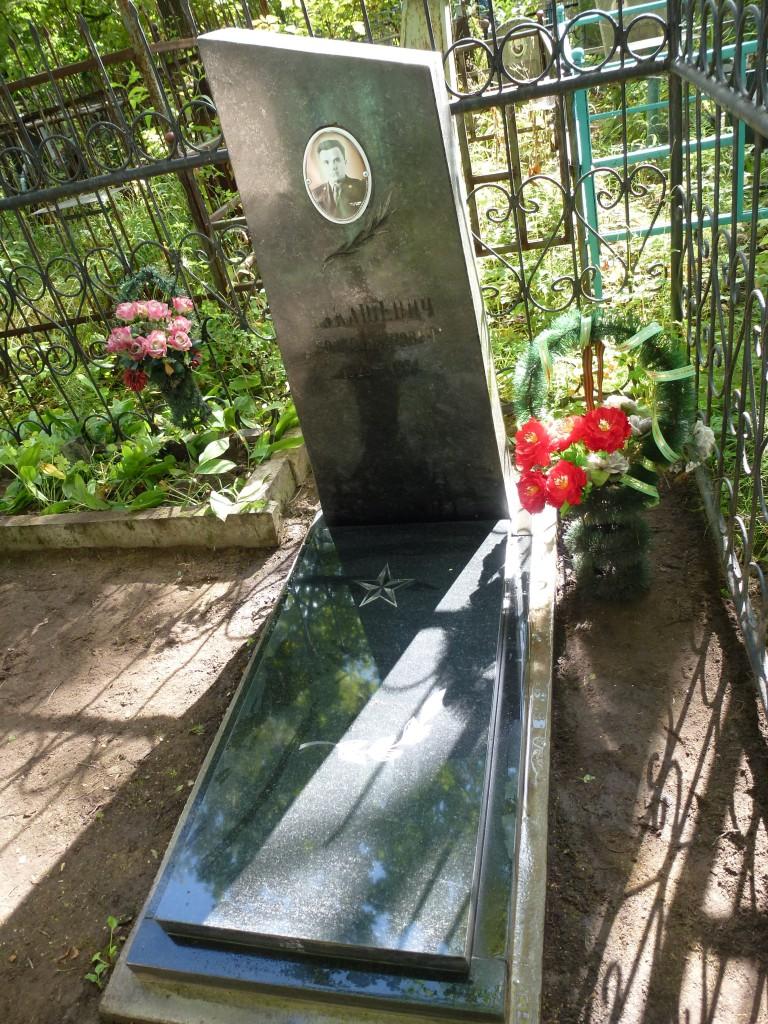 г.Череповец, могила Б.И.Лукашевича, 8 мая 2015 года
