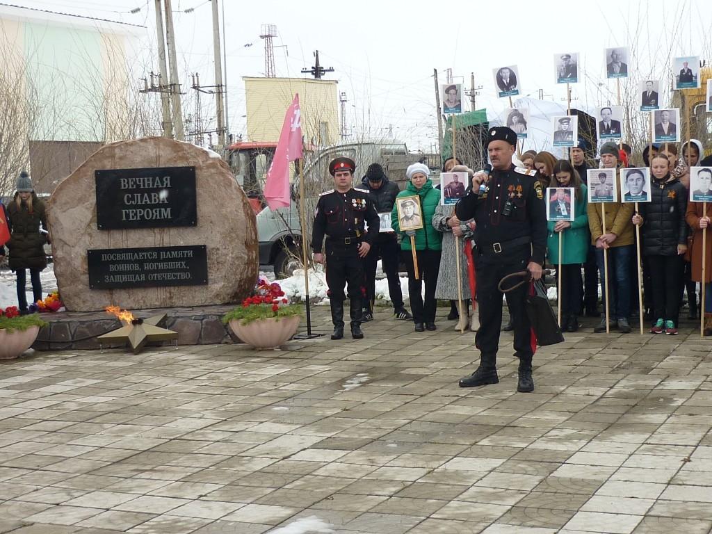 Поздравление от руководителя военно-патриотического клуба Сверчкова В.Н.