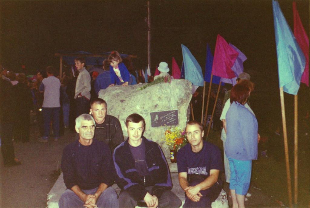 Фестиваль Высоцкого в Выезжем Логу Работники ПМС-257