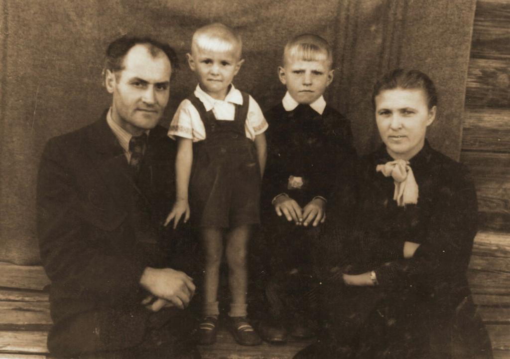 Семья Павла Карповича Гетмана