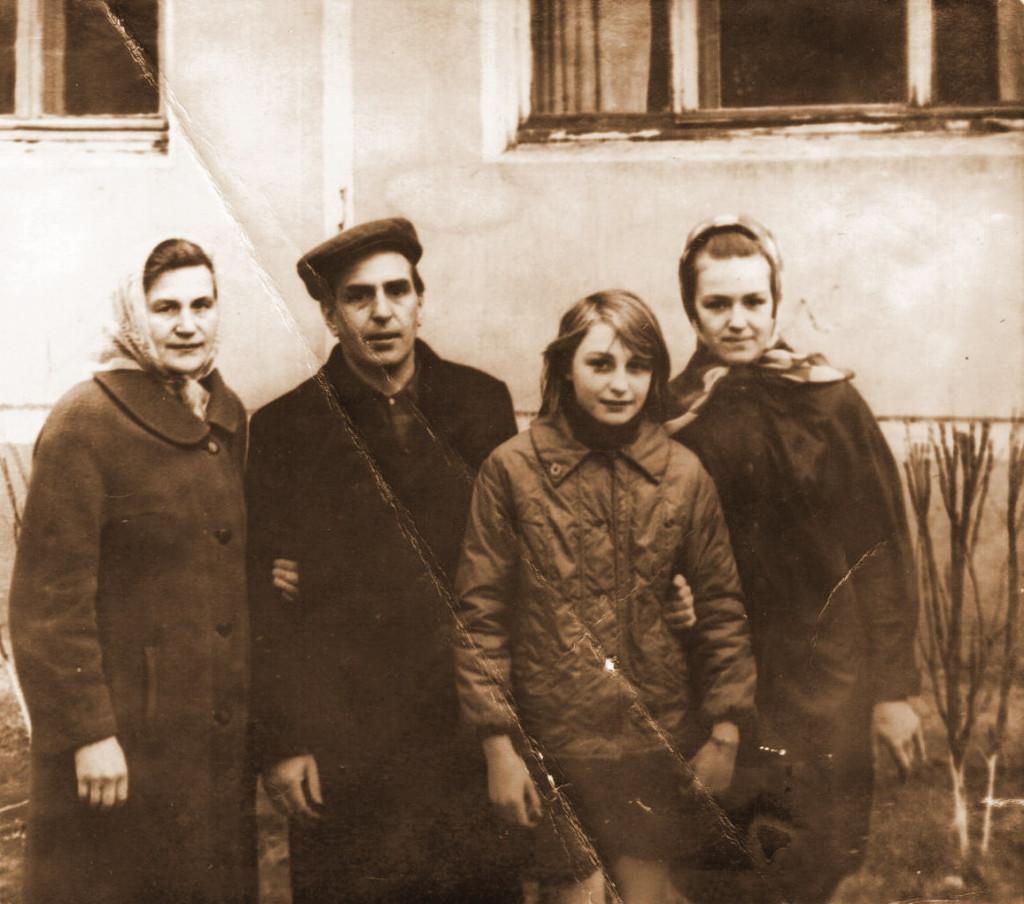 Семья Межиба. 1972 год