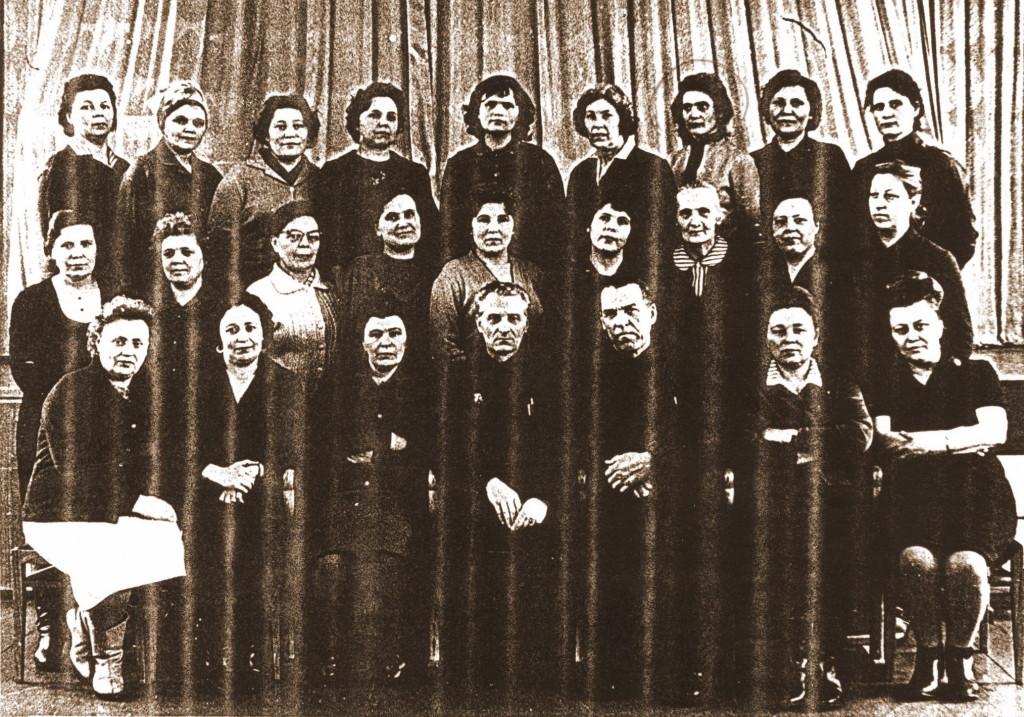 1970 год. Иркутск Совещание НАБ