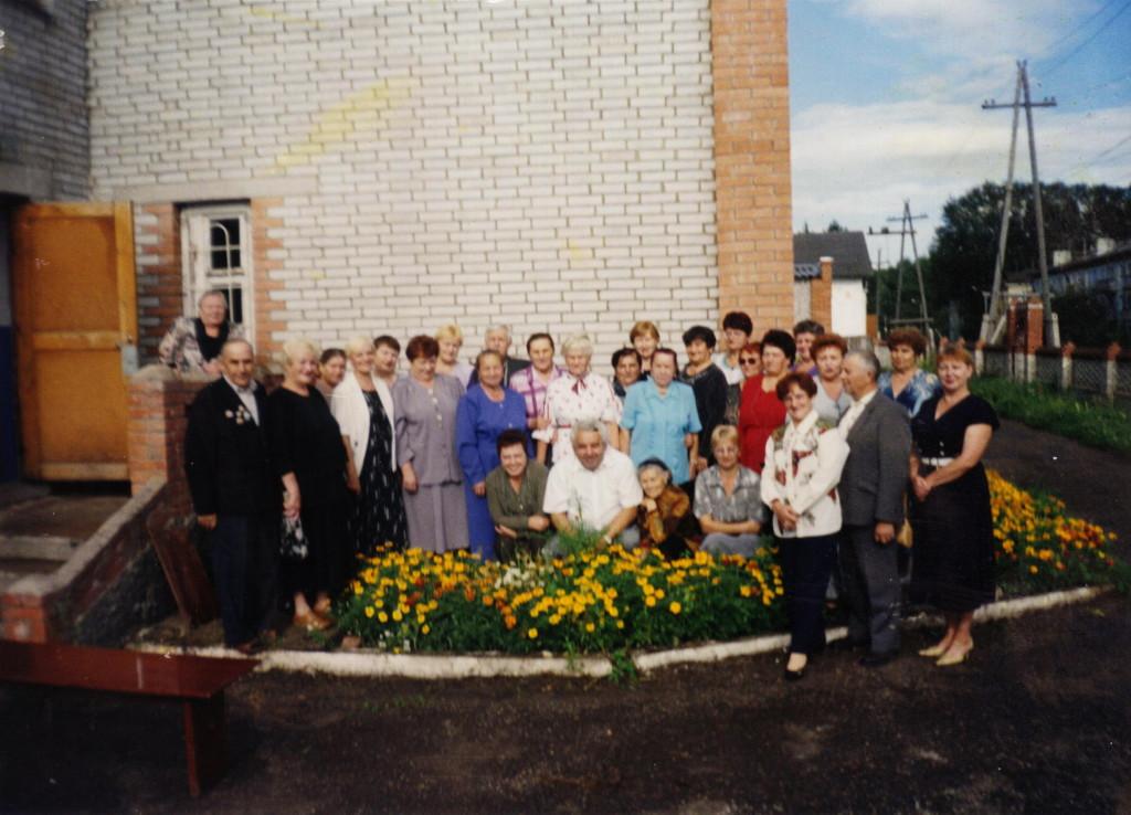 2003 год Встреча через 25 лет с Борисом Михайловичем Крайтом