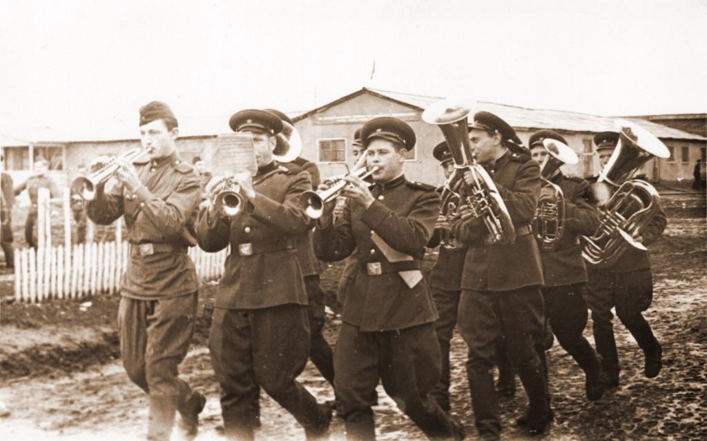 Духовой оркестр воинской части