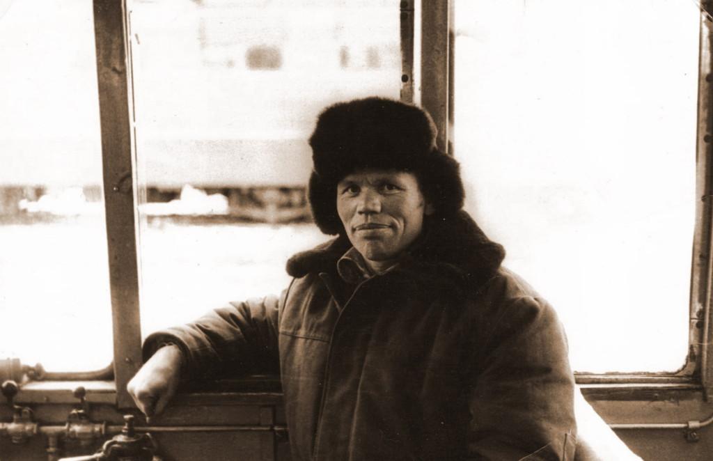 Зима 1967-1968 года На тепловозе в депо