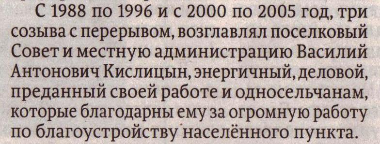 Кислицын