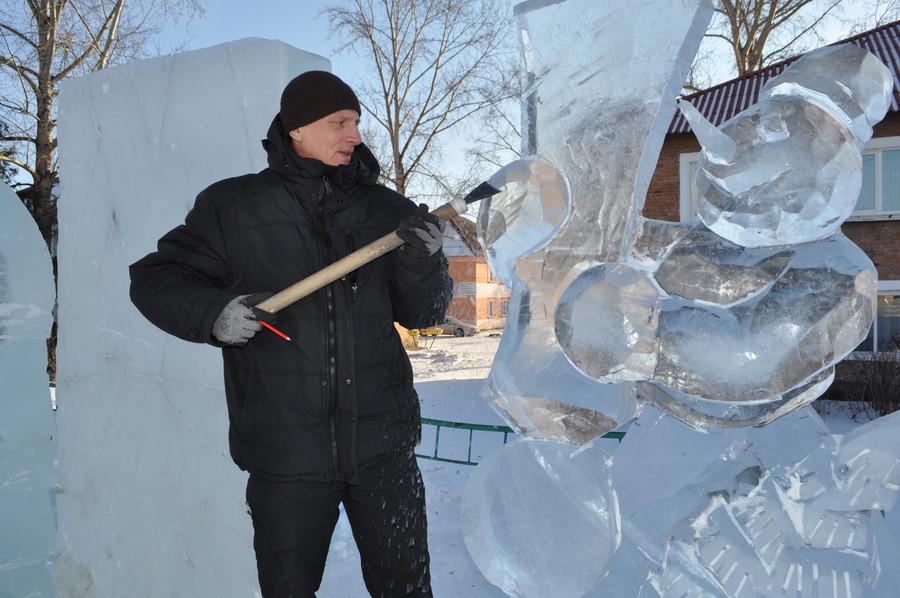 2016 - 2017 год Мастер ледяной скульптуры Создание ледового городка