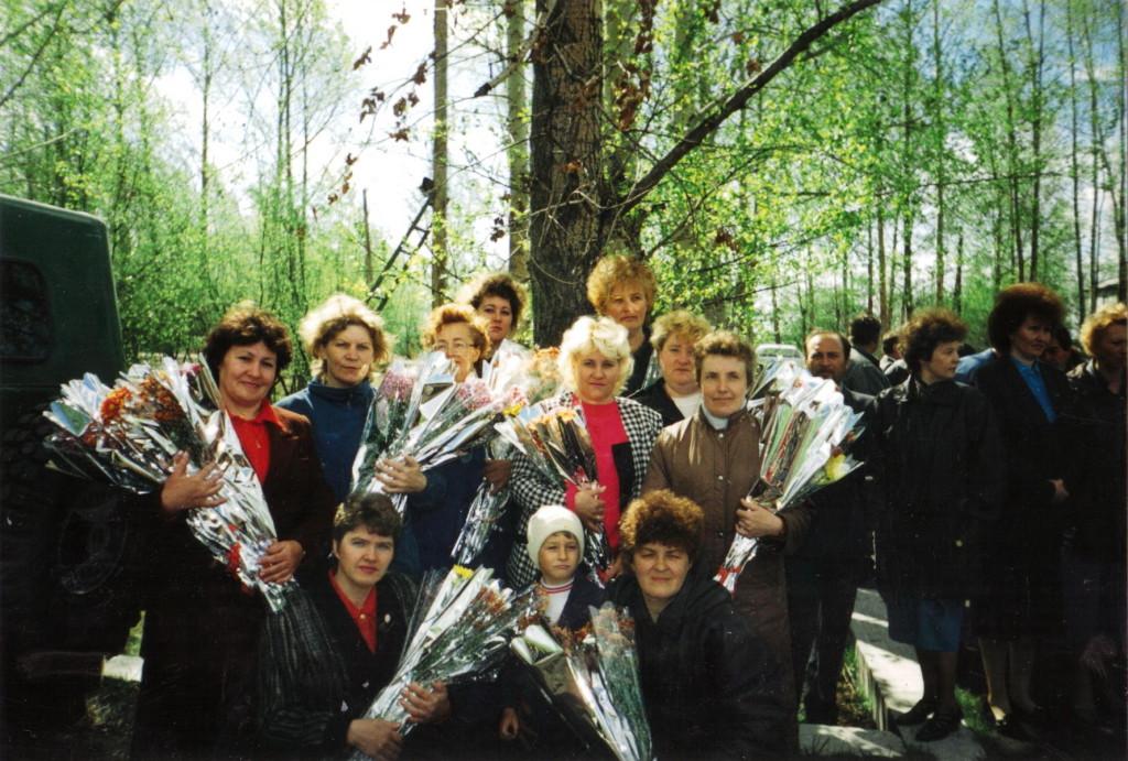 9 мая 1997 год Женсовет на праздновании Дня Победы