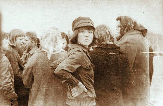 Лидия Николаевна Шилова с классом