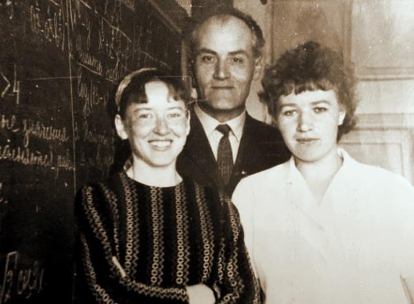 Теняева В, М.- отличный физик, Гетман П,К,, я- Пономарева Т,Г.