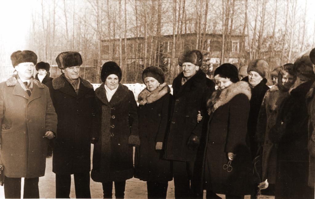 Митинг на станции Саянская в честь 20-летия трассы Абакан-Тайшет