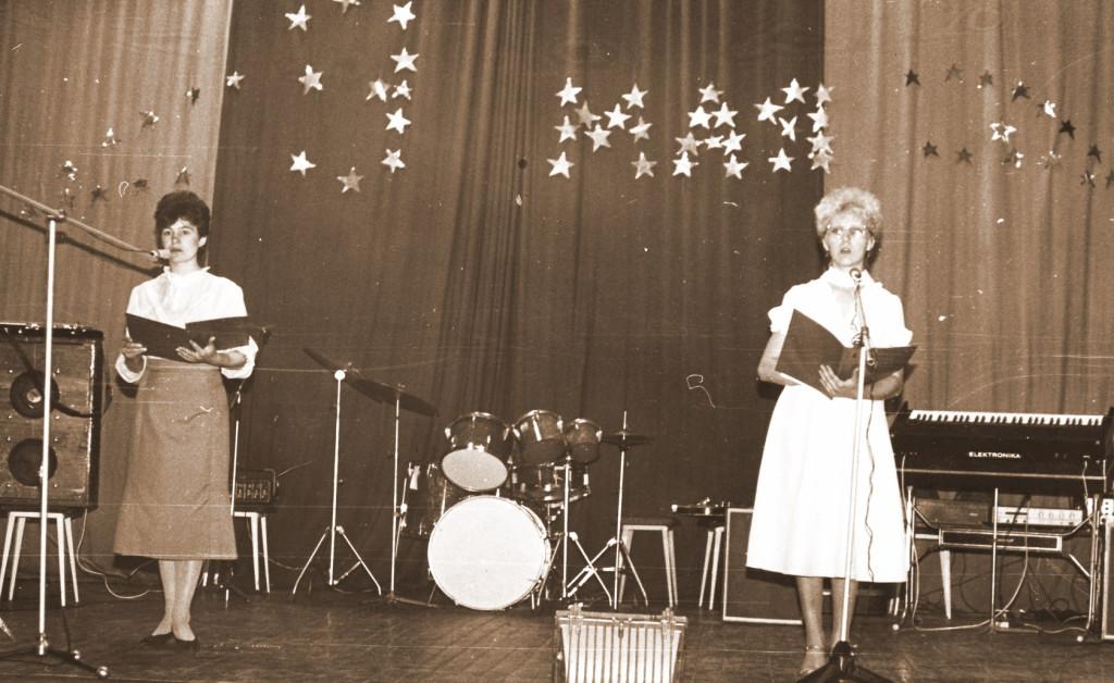 9 Мая 1980-е годы Люба Коростелёва и Тамара Шевченко-Атапина
