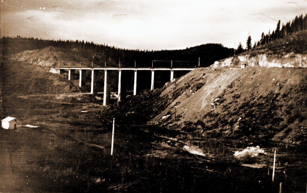 1971 год Козинский (Джебский) виадук