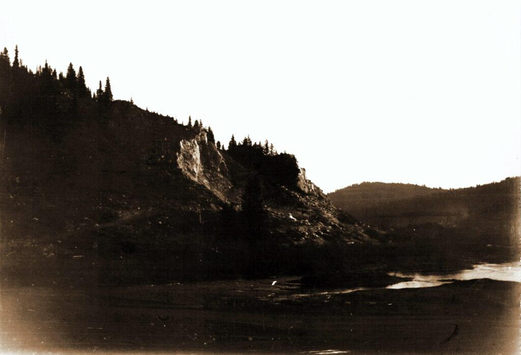 1971 год Река Сисим у Щетинкино