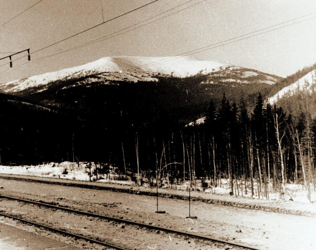 1973 год Гора Аргиджек