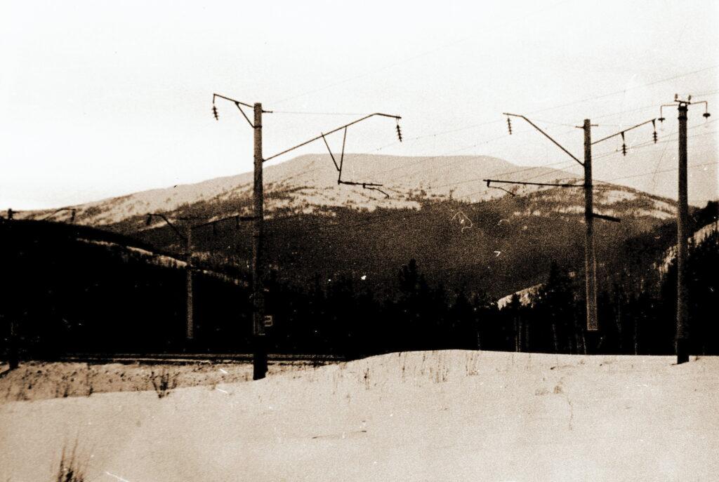1973 год Гора Аргиджек2