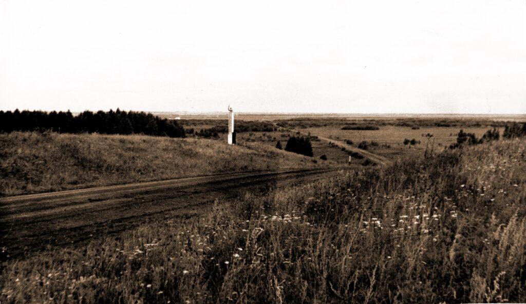 1973 год Граница Агинского района
