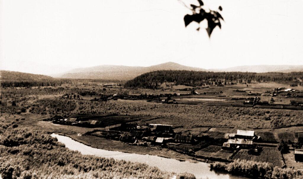 1973 год Деревня Кой в долине реки Мана