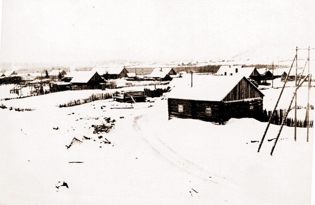 1973 год Деревня Кой (снято с пуни)