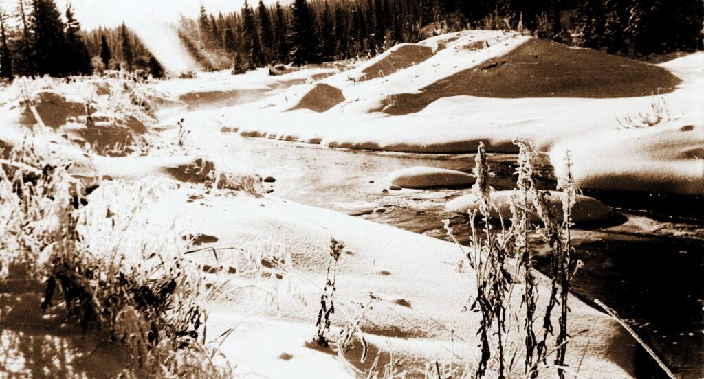 1973 год Река Коза на станции Щетинкино