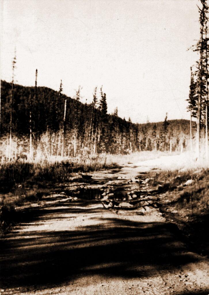 1973 год Ущелье реки Анжа