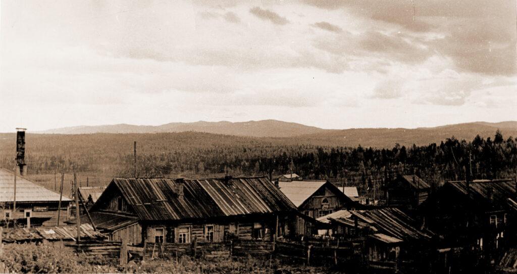 1975 год Посёлок Тугач Агинского района