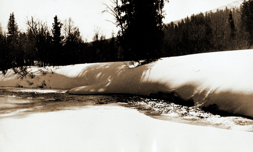 1976 год Река Крол